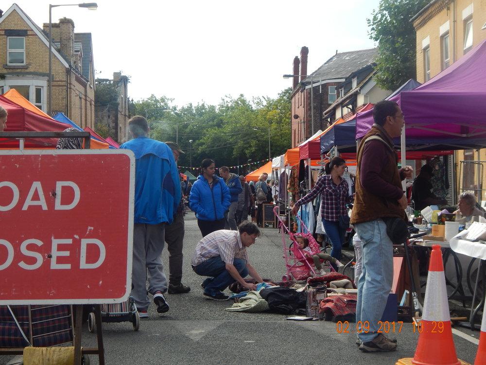 Granby Street September Market