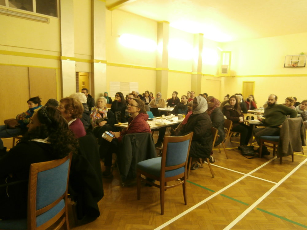 Participants at Granby 4 Streets CLT Community Supper and Market Conversation- Feb 2018