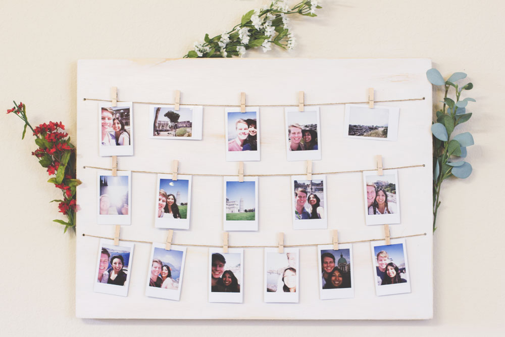 •• DIY Bohemian Home | Distressed Clothespin Polaroid Photo Display In this home DIY I am going to show you how to make your very own distressed clothespin Polaroid photo display! It may look a little ... Read more »