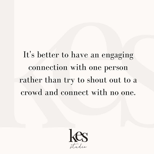 "This is so important! One of the biggest conversations we have with strategy clients is about getting clear on their audience. We often want to make it super broad - to connect with everyone. But 9 times out of 10, were connecting with no one. It's better to have a super defined ideal audience (give them a name, age, occupation, hobbies, city, etc.) and really hone in on that person. You will attract ""your people"" and when it happens, it's like magic! ✨ #strategyandstyle #brandingtip #marketingtips"