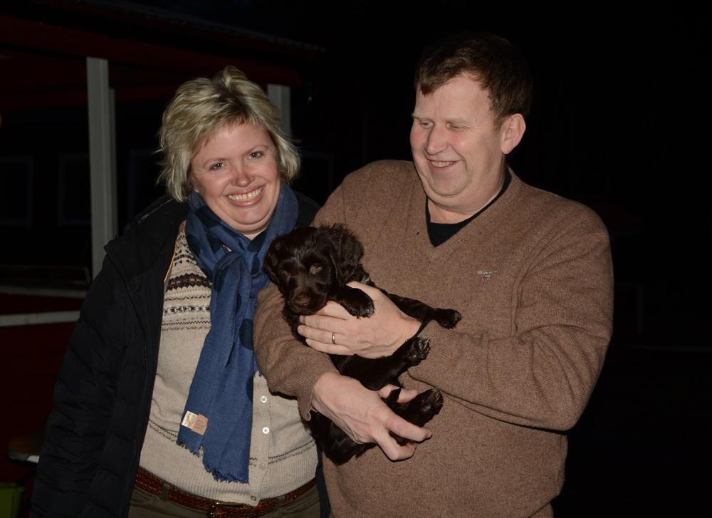 Otto med sin familj