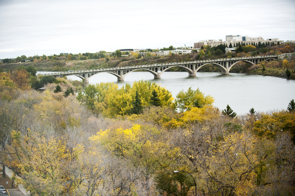 Can't beat this view of Saskatoon, especially this time of year!