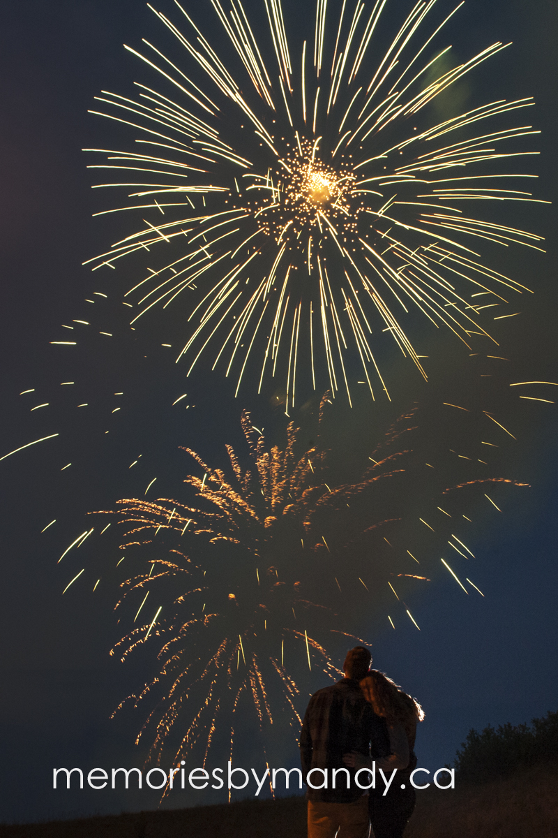 An image we got at the Canada fireworks here in Saskatoon.