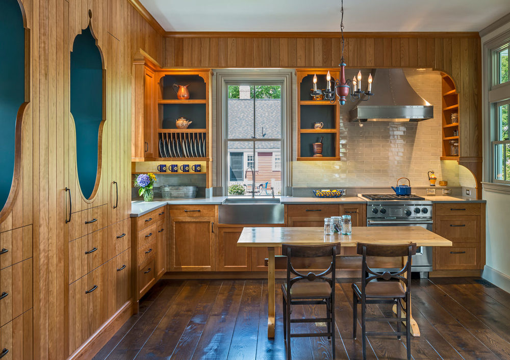 Concord Carriage House Kitchen