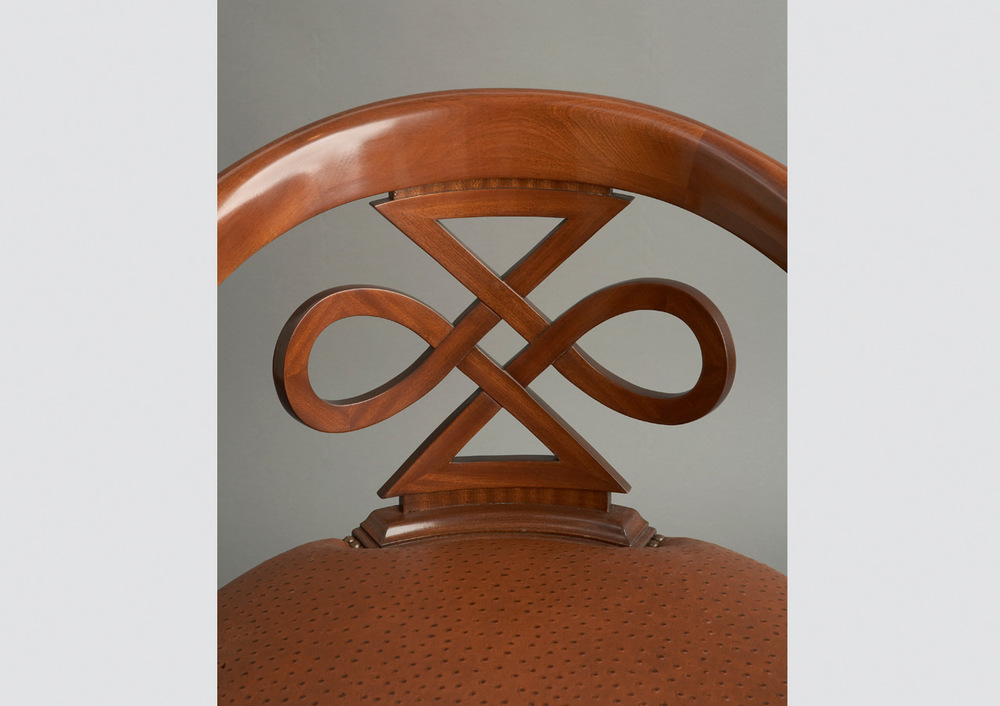 Sapele Club Chair