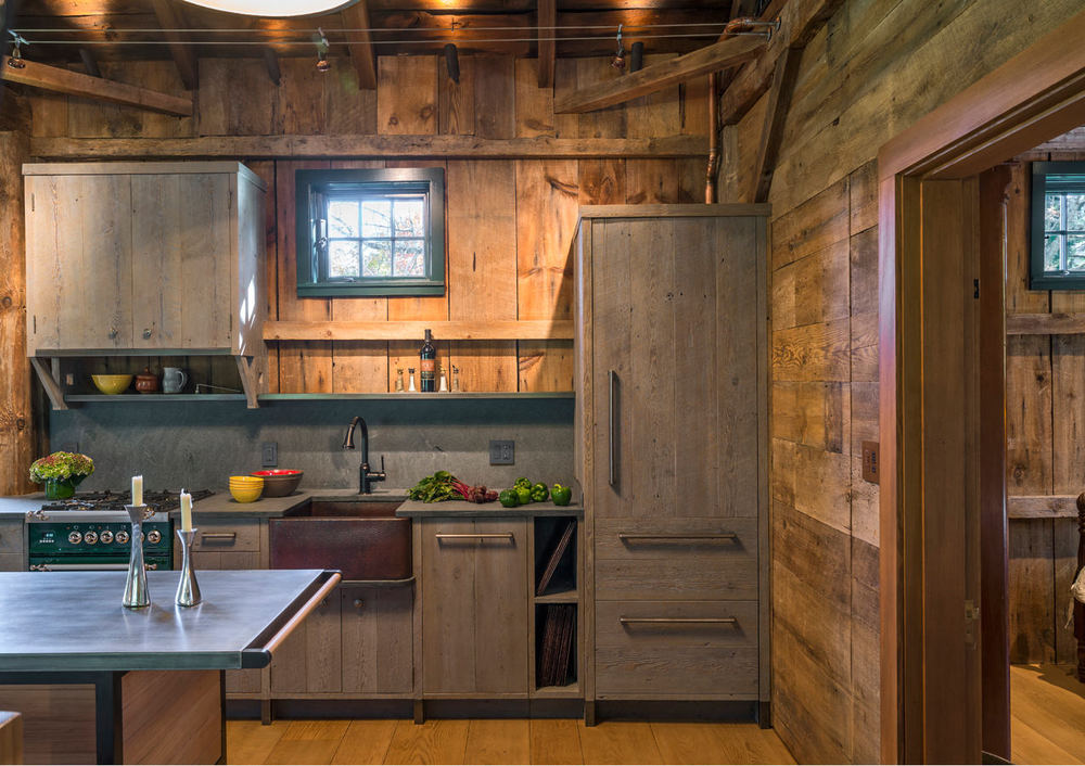 Sandy Pond Barn Small Kitchen