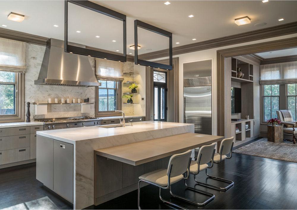 Brattle Street II Kitchen