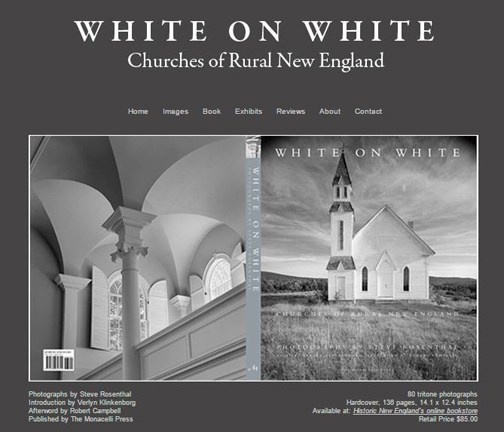 The book  White on White  is being sold at the BSA in conjunction with the exhibit (and discounted for BSA members). It is also available through  Historic New England's online bookstore . To find out more about the making of this book, visit  Steve Rosenthal's website,    White on White .
