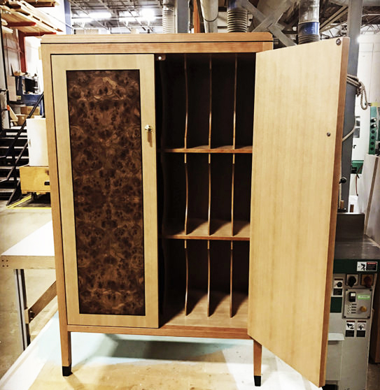 Our craftspeople are masters in the making of fine furniture. Their capabilities are a part of everything we do. Thank you to our shop manager, Dan Shaw, for sharing his photos taken in KR+H's shop.