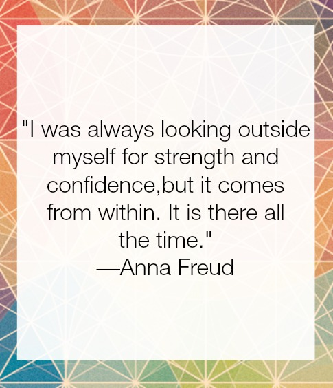 Savoury Soul Wellness Anna Freud Quote