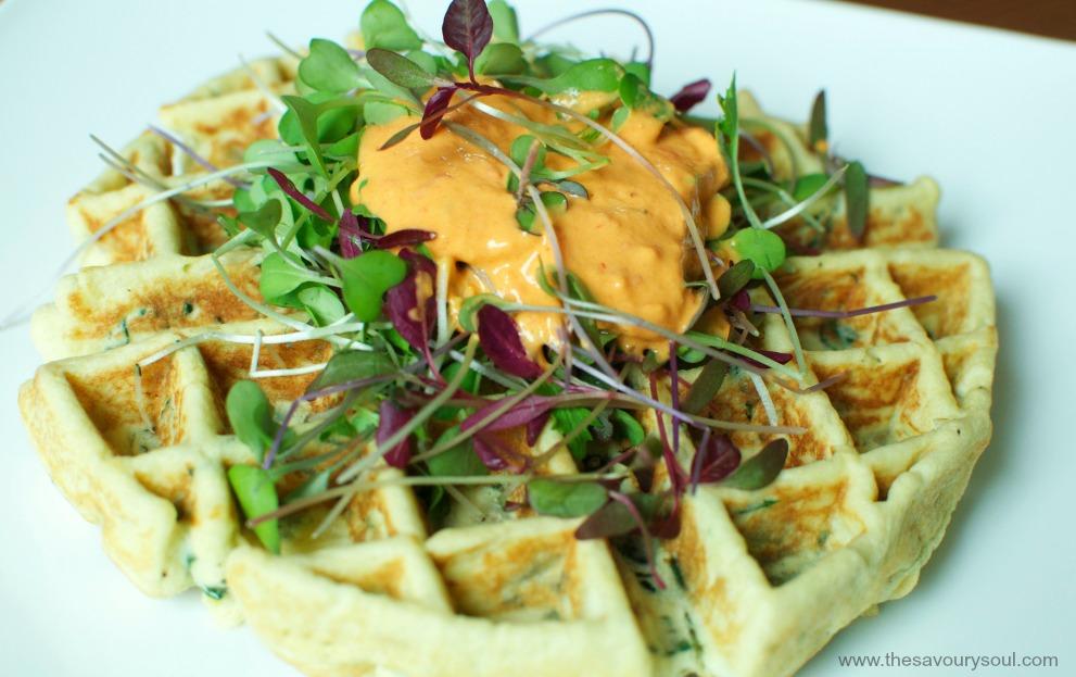 Savory Waffles 2