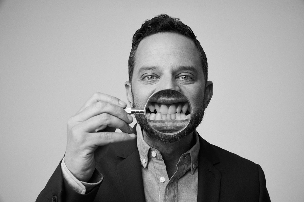 Nick Kroll for GQ