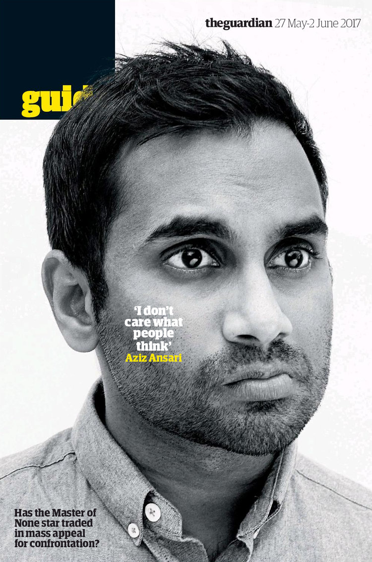 Aziz Ansari for The Guardian
