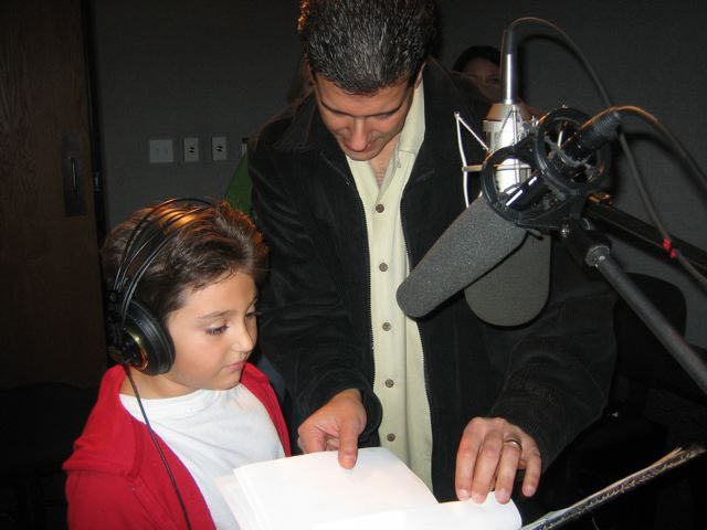 Robert Zappia (Writer, Director, Producer) directs his son, Paul Zappia (Michell/Orphan 'Prince')