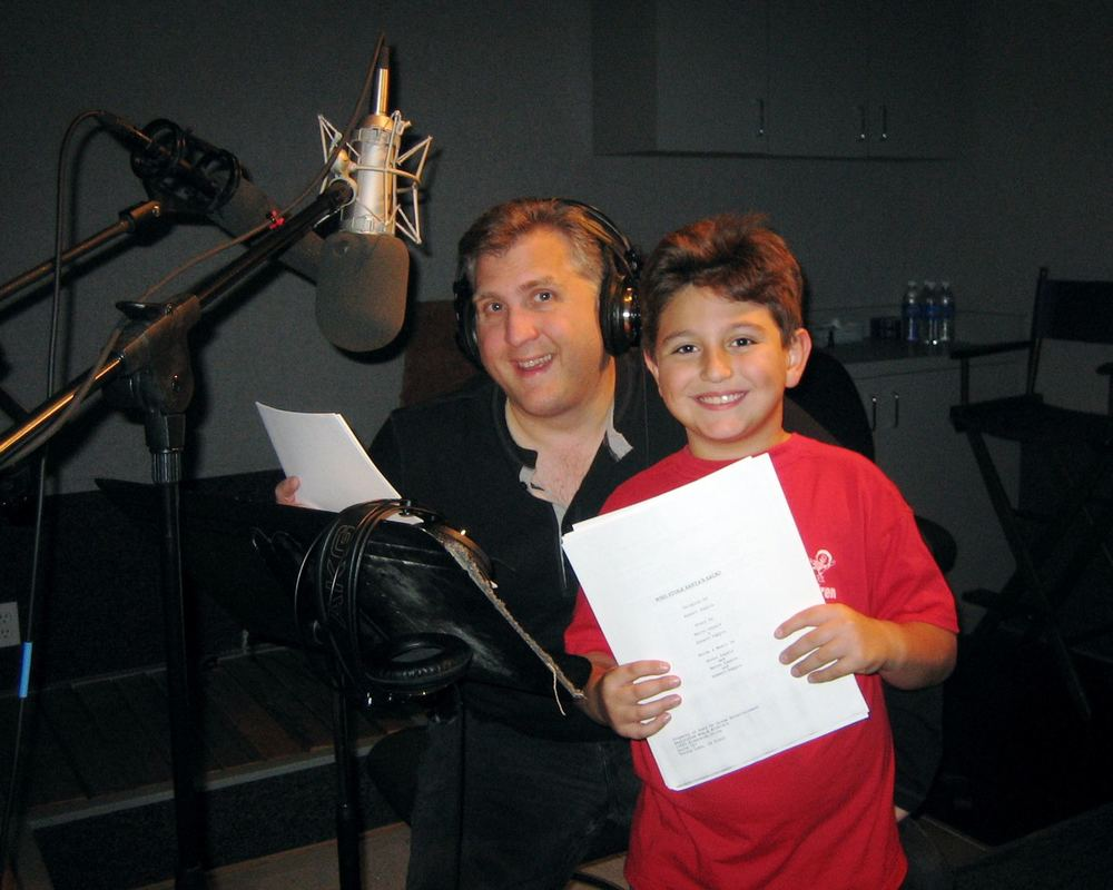 Daniel Roebuck (Paul Rocco) and Paul Zappia (Mitchell/Orphan 'Prince')