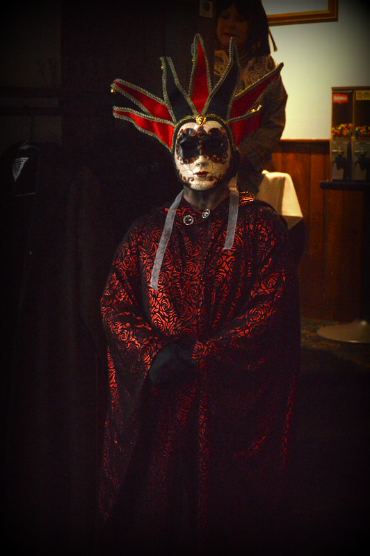 """Ameena in """"Masque of the Red Death"""""""