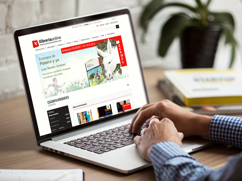 Vicens Vives Online - #ecommerce #web #UX/UI