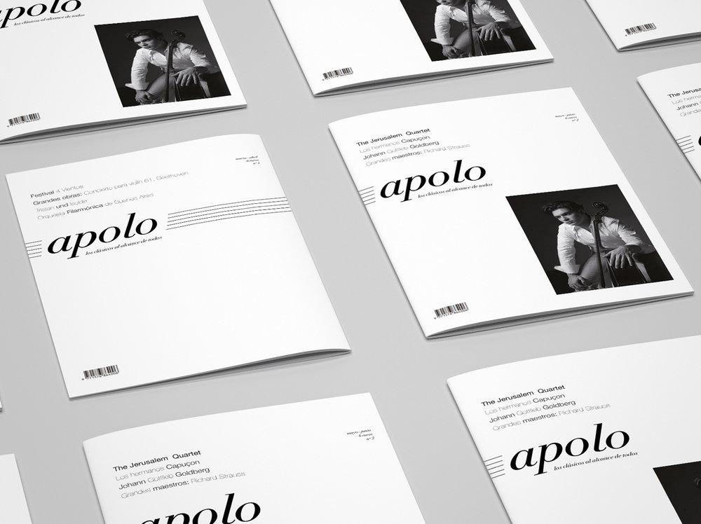 Apolo Magazine - #editorial