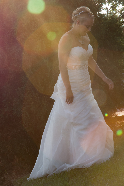 wedding bride at Centennial Lakes Park Edina, Minnesota Wedding photographer