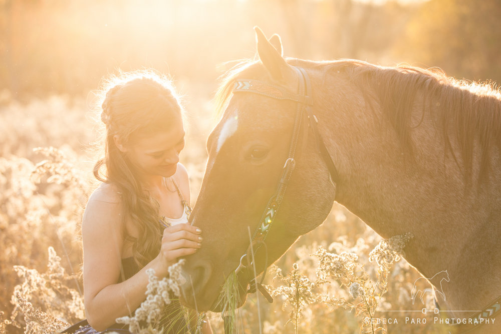 Ballerina and her horse