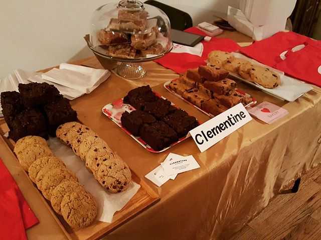 Take it from me. The brownie is banging. Check out @clementinebakery here at the #CoolCreatives #PopUpShop. @artsoindulge #itsculinaryartsoindulge