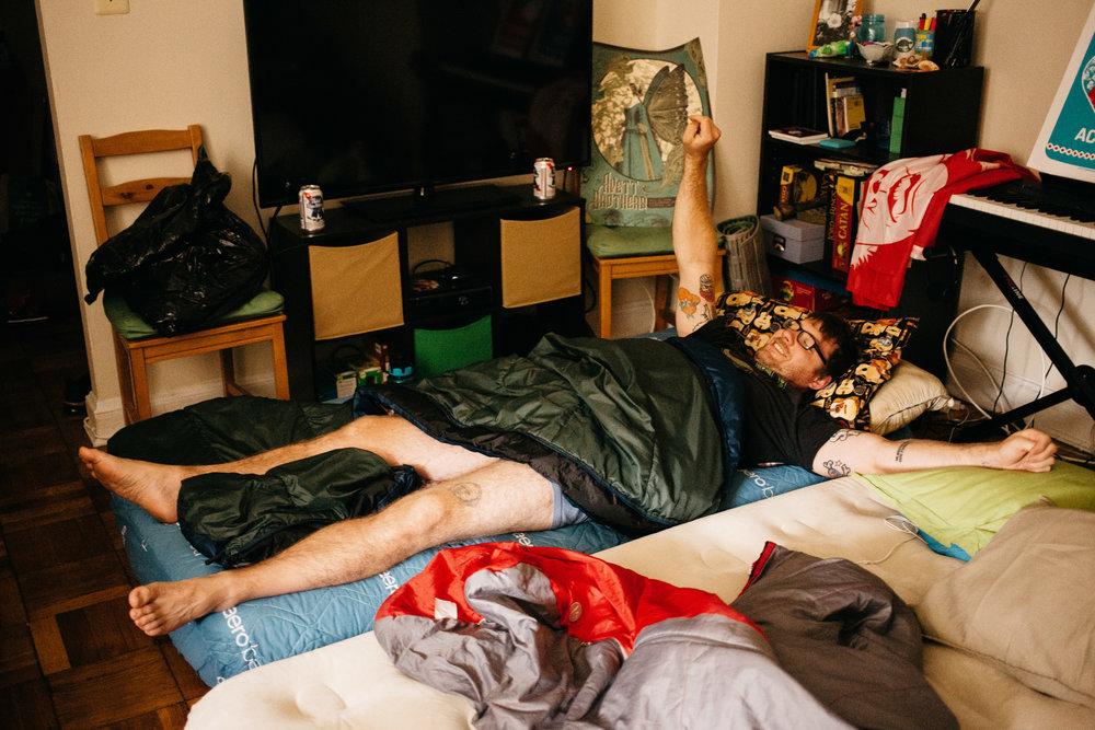 Ryan in waking up in Washington D.C. September 26, 2016.