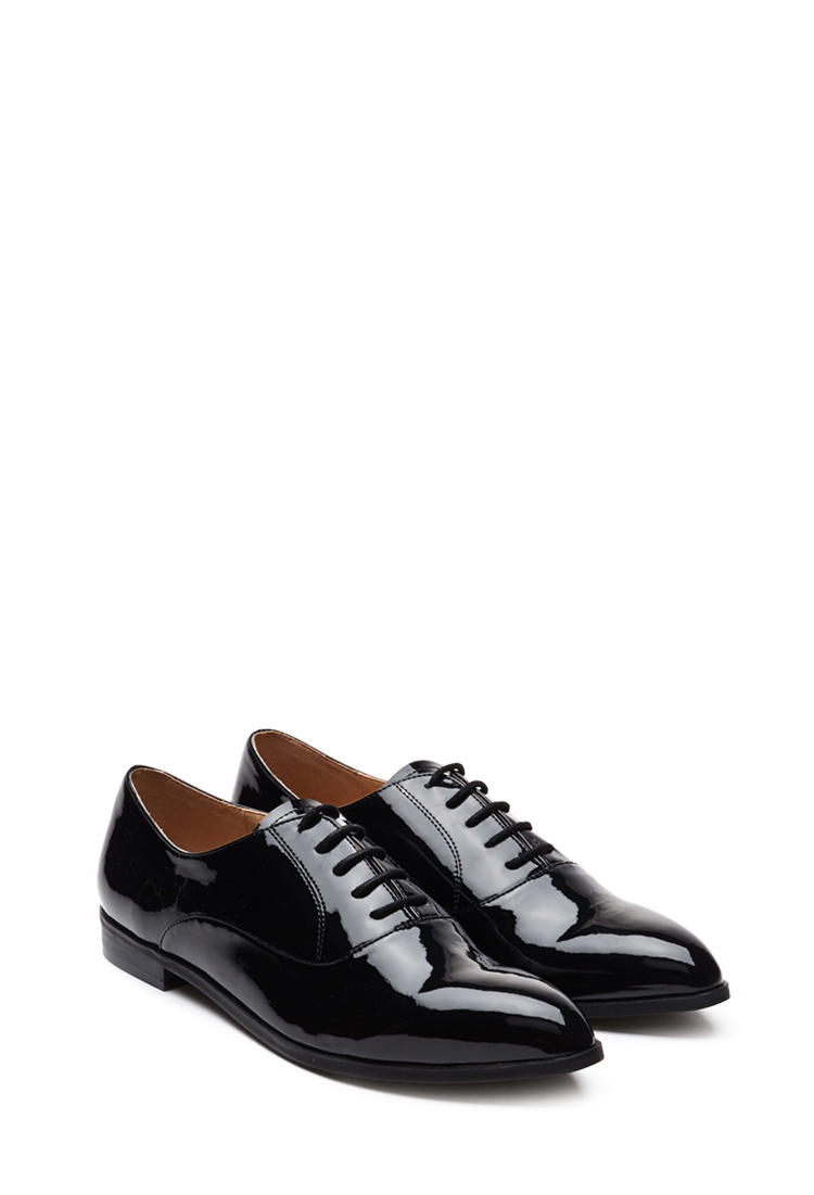 Faux Patent Leather Oxfords.jpg