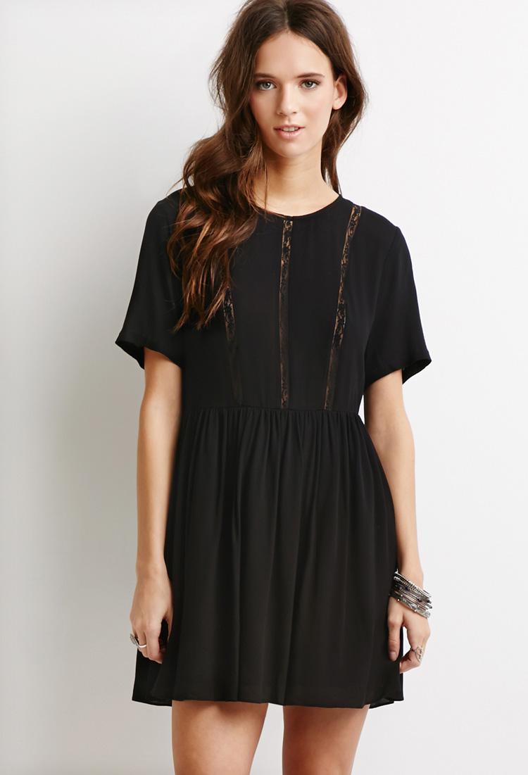 Lace-Paneled Smock Dress.jpg