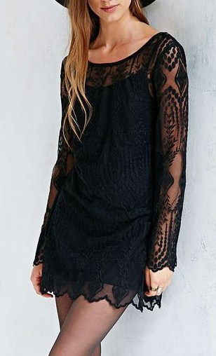 Ecote Embellished Mesh Dress.JPG