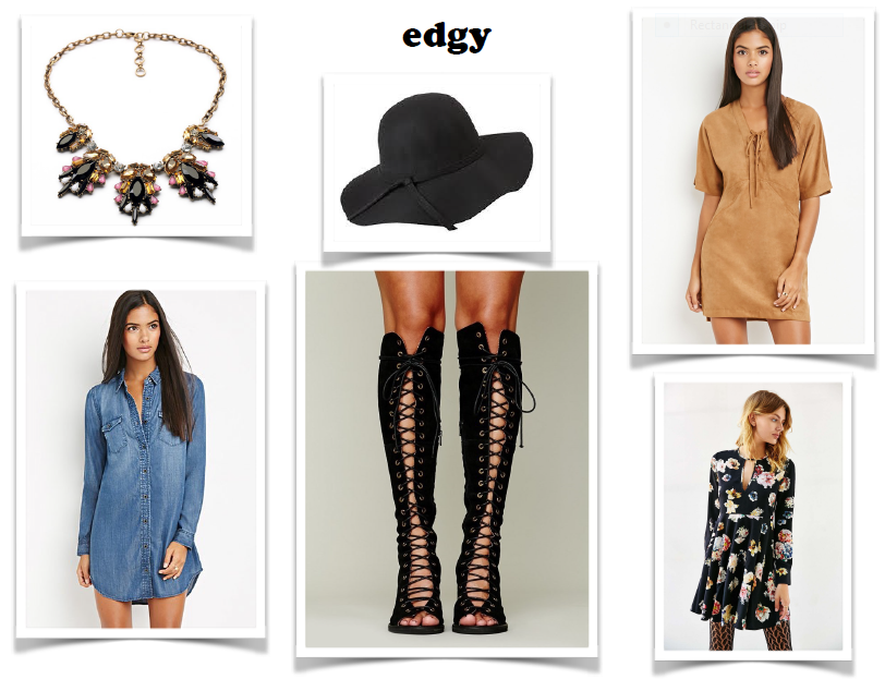 images via Forever 21 & Urban Outfitters