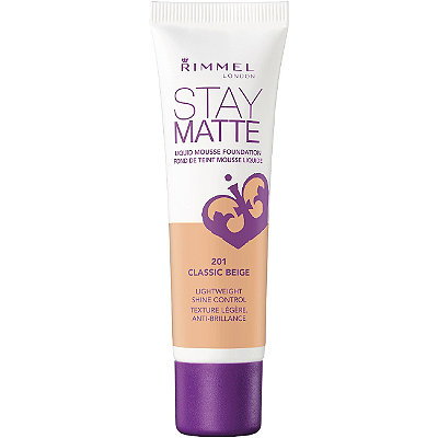 2.Matte Foundation - Try a matte foundation—it will keep your skin free of oils and prevent makeup from running off of your face.