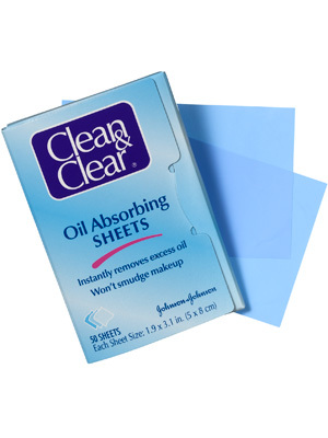8.Oil-BlottingSheets - This is definitely a summer makeup hack! Try Clean & Clear's Oil Absorbing Sheets. These sheets will absorb excess oil without ruining your makeup. Dab the sheets all over your face when you feel like your skin is getting too oily or your makeup is starting to smudge. It will prevent more smudging and you won't have to spend any more time applying makeup.