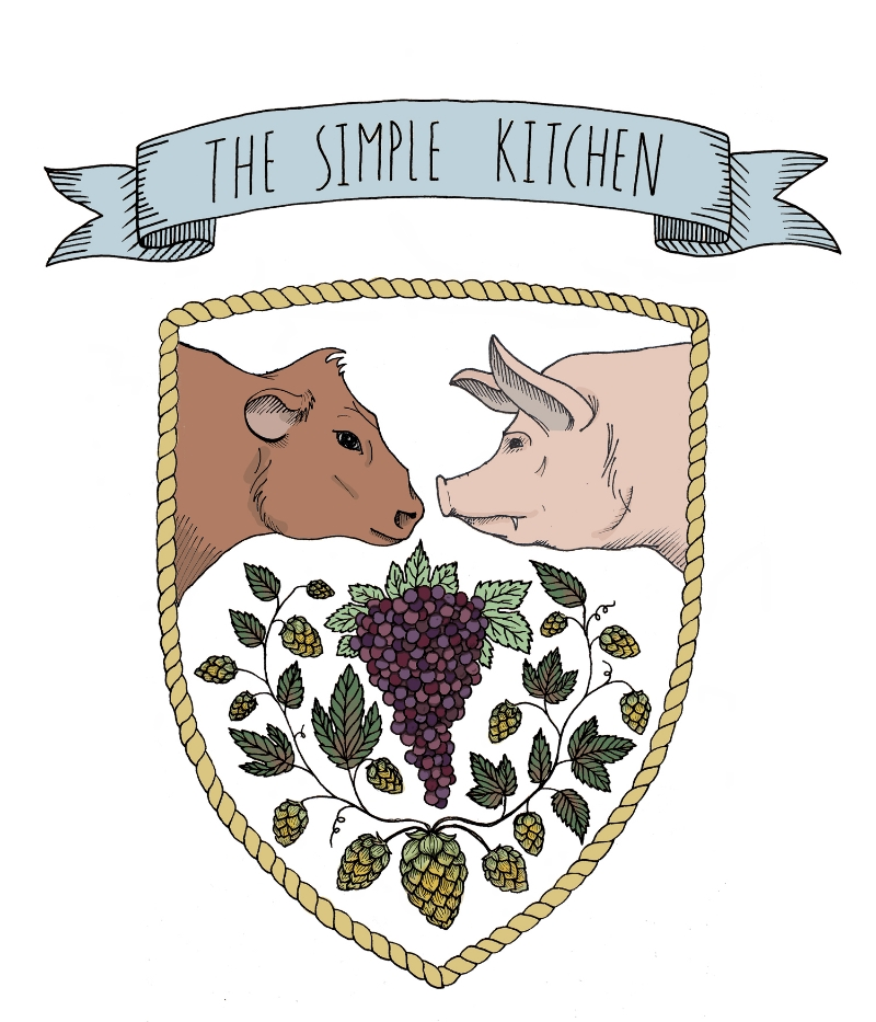 Logo design for The Simple Kitchen, VA 2014