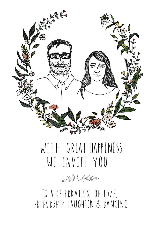 Wedding Invitation, 2016