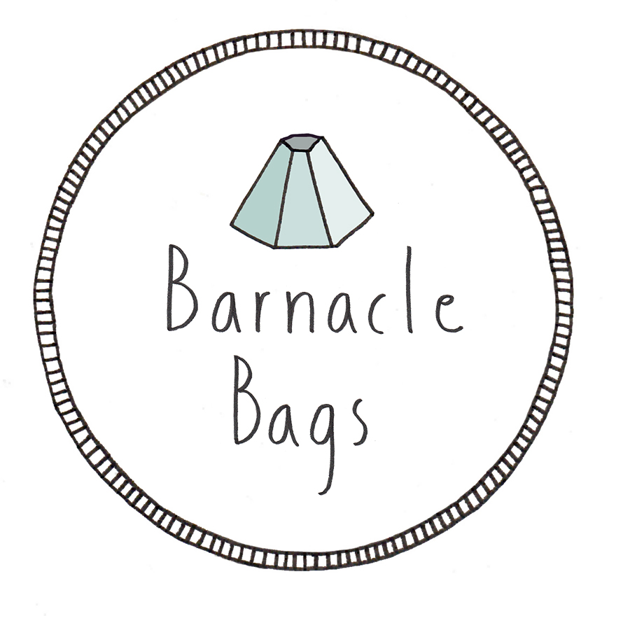 Logo design 1 for Barnacle Bags, 2014