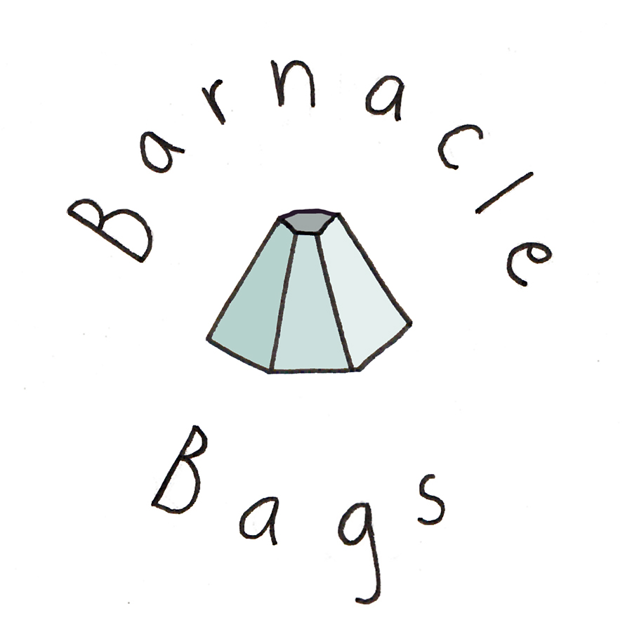 Logo design 2 for Barnacle Bags, 2014