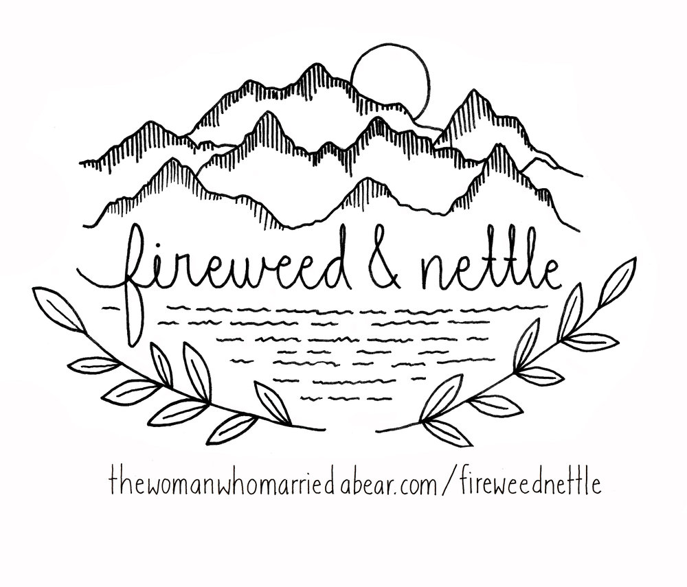 Letterhead II for Fireweed & Nettle  2017