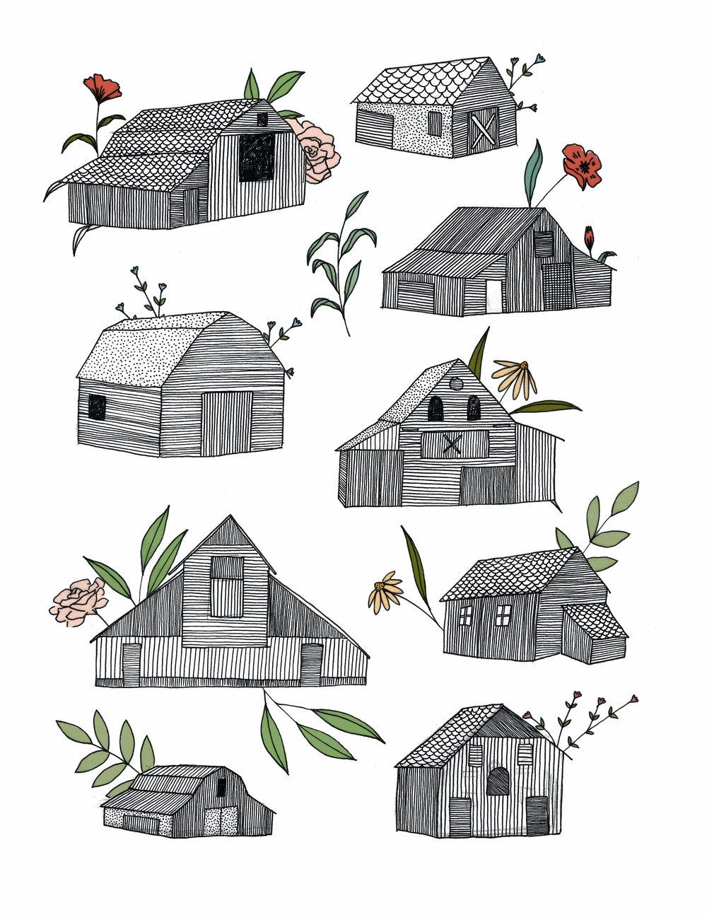 Old Barns, 2016