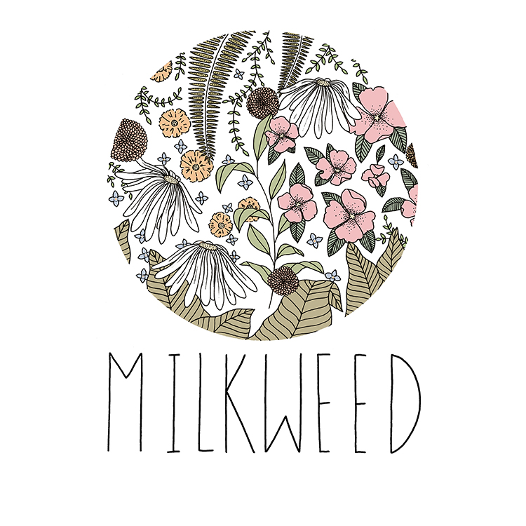 Logo Design for  Milkweed Floral Co.   2017