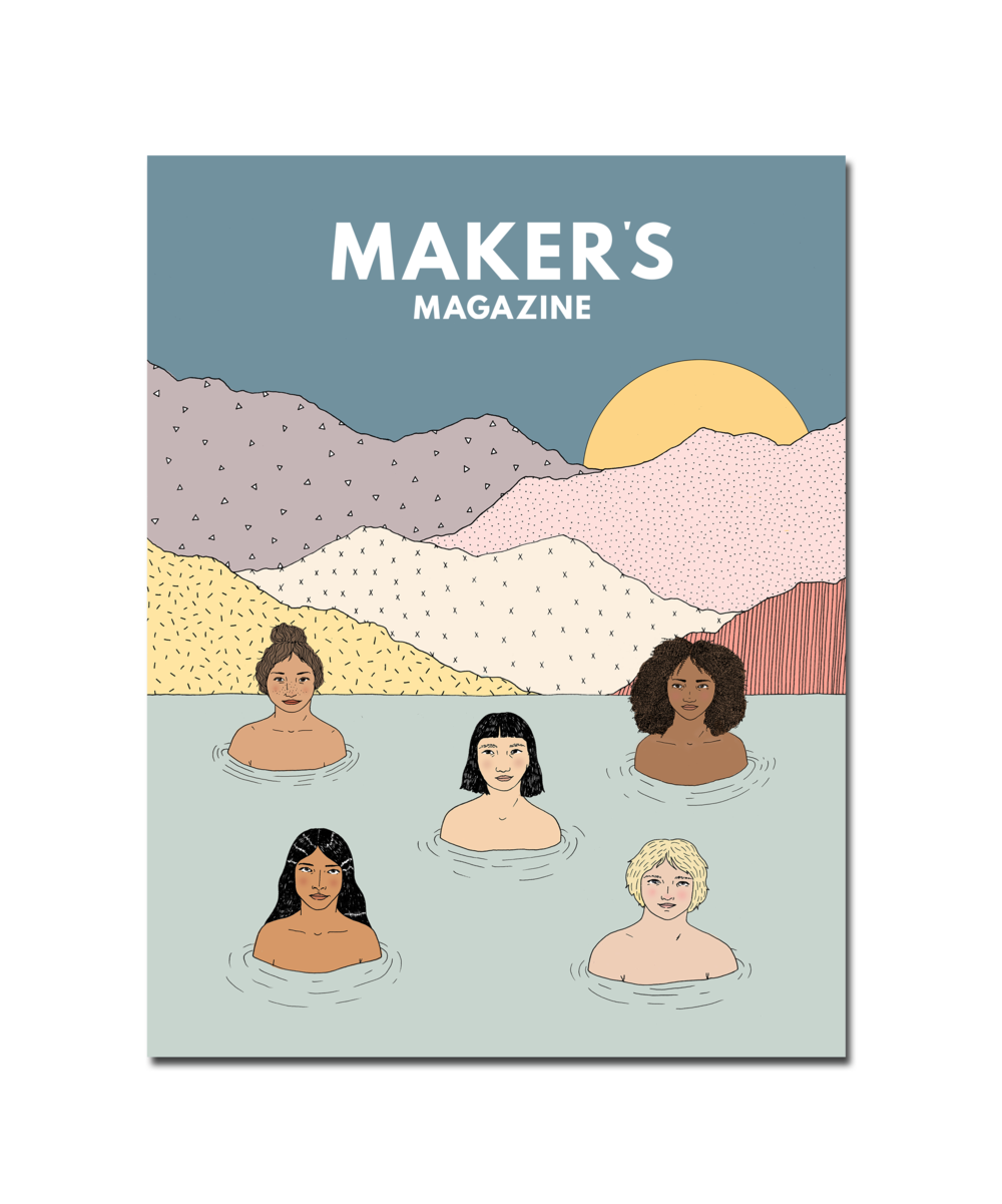 Cover for  Maker's Magazine  Issue 4  2017