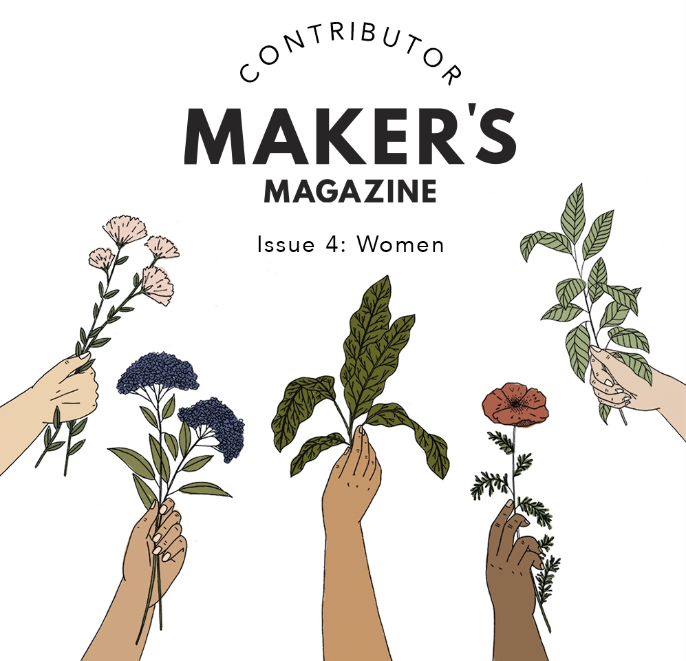 Instagram graphic illustration for  Maker's Magazine,    2017