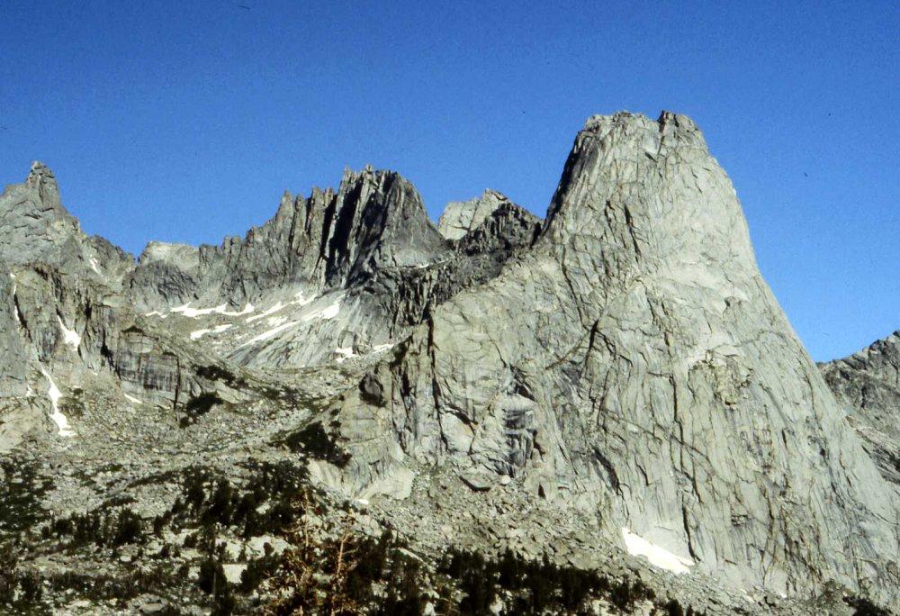 Wolf's Head (~12,200') Pingora (~11,900')