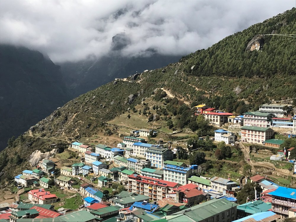 Village of Namche Bazaar