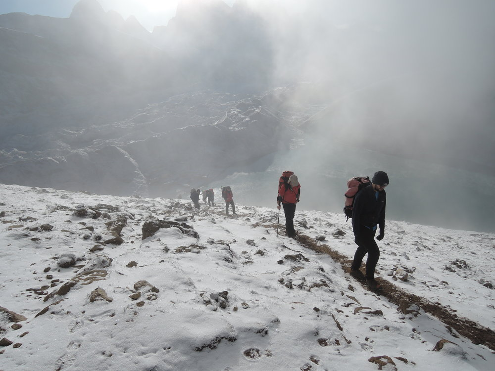 Ascent of Gokyo Ri