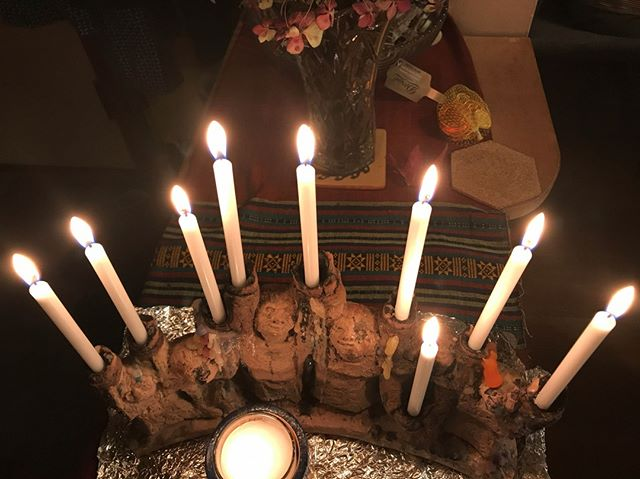 Almost but not *quite* too late: Happy Hanukkah! #seasonoflightanddark
