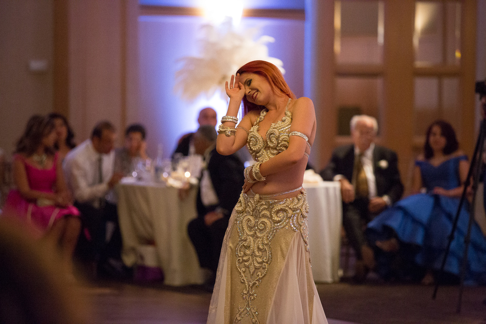 toronto belly dance wedding