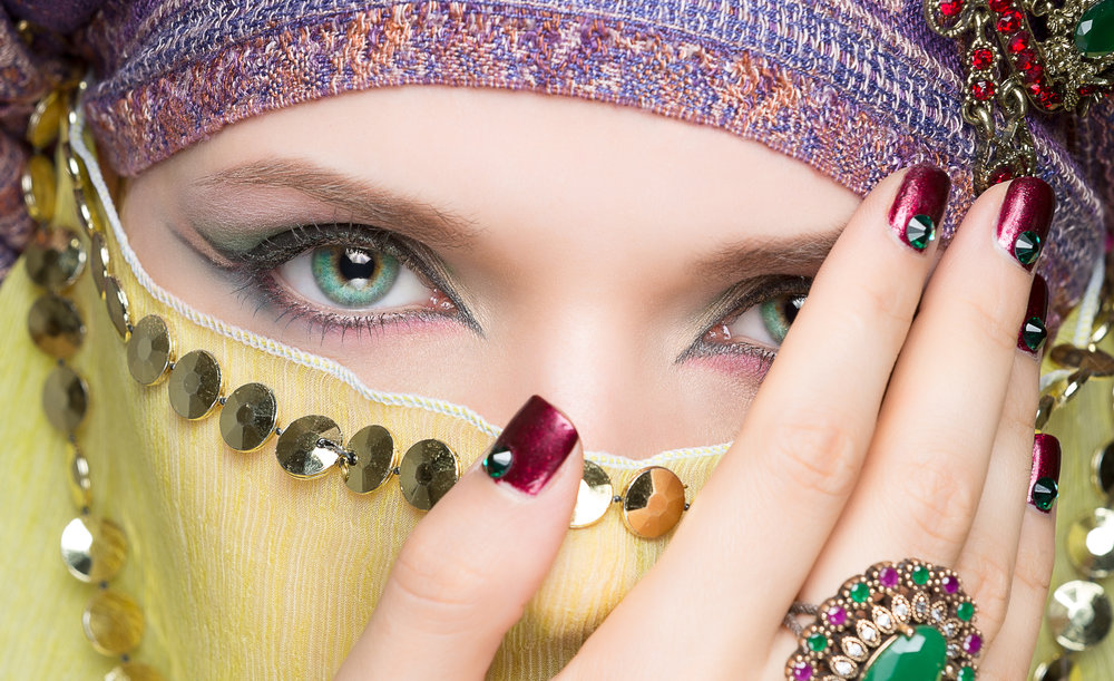 arabic make-up eyes
