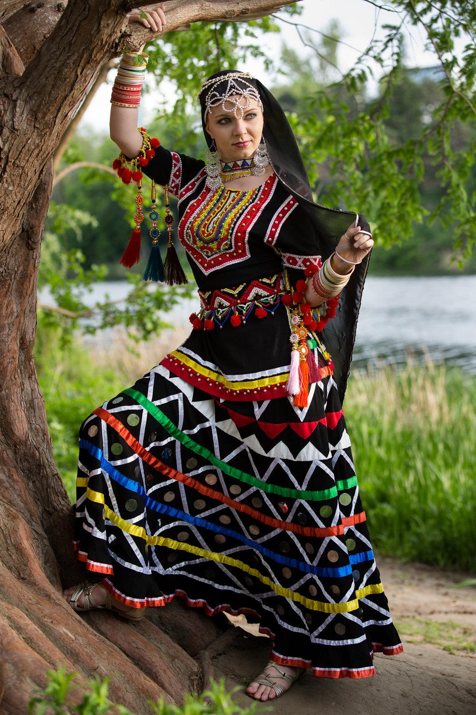 Indian Kzalbelia Dance