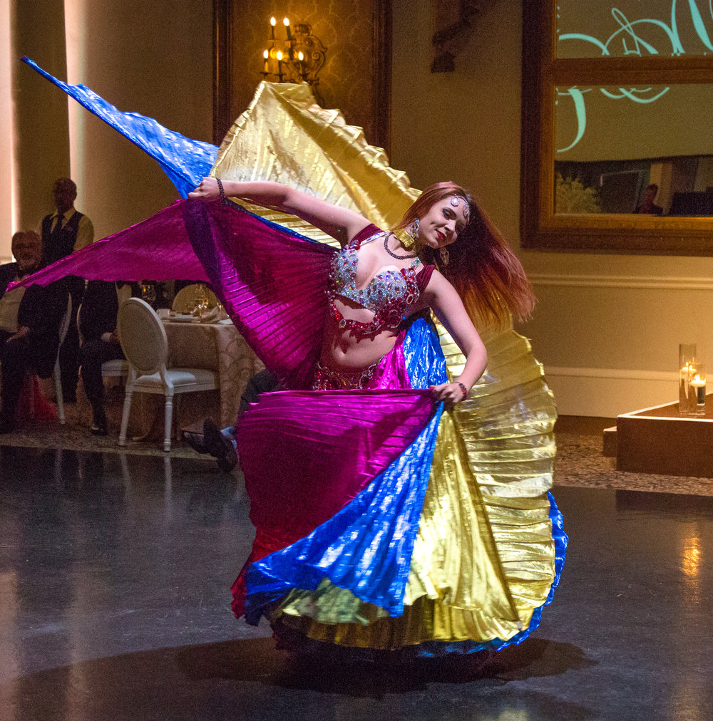 belly dance toronto wedding
