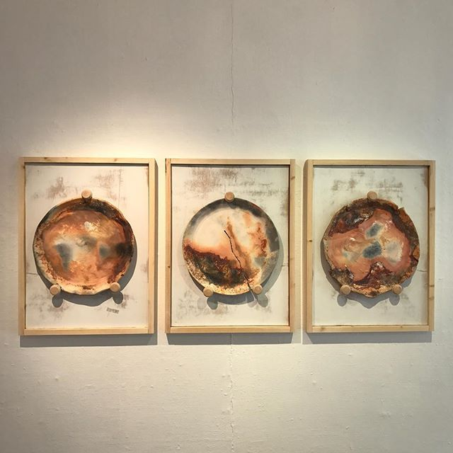 If you haven't been up to the Highland Art Gallery in Weaverville to see my show entitled The Breaking Point, make sure to stop by this week because it will be coming down mid week next week. And if you do go, let me know what you think. #jarpottery #pottery #thebreakingpoint #thebreakingpointshow #platters #art #ceramics #pitfire